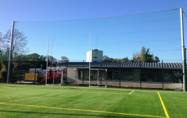 Ballstop and Roof Netting