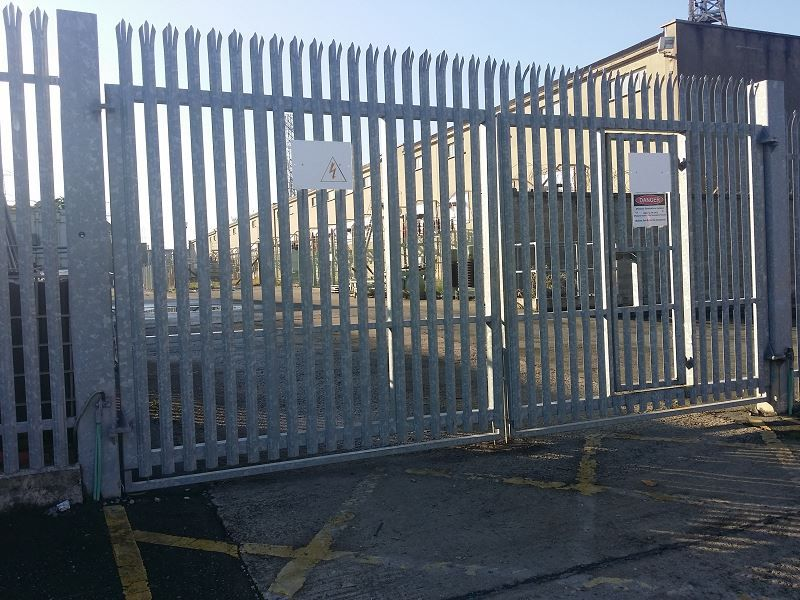 Irish Fencing & Railings Ltd. Gates Range G02 – Double Leaf Swing (202)
