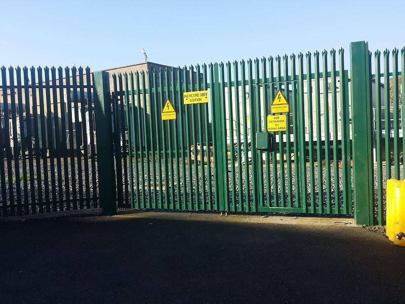Irish Fencing & Railings Ltd. Gates Range G02 – Double Leaf Swing (203)