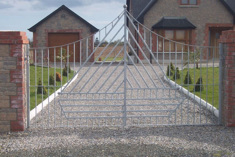 Irish Fencing Railings Ltd. Gates Range G11 – Domestic Gates 109