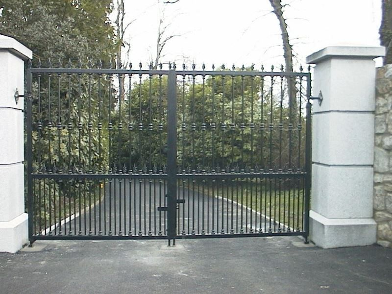 Irish Fencing Railings Ltd. Gates Range G11 – Domestic Gates 122