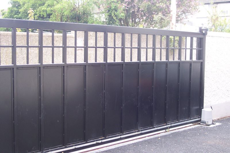 Irish Fencing Railings Ltd. Gates Range G11 – Domestic Gates 126