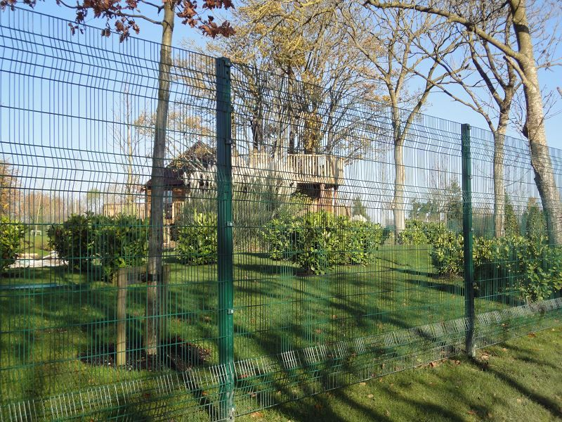Irish Fencing Railings Ltd. Mesh Perimeter Range A02 Killbarry 14