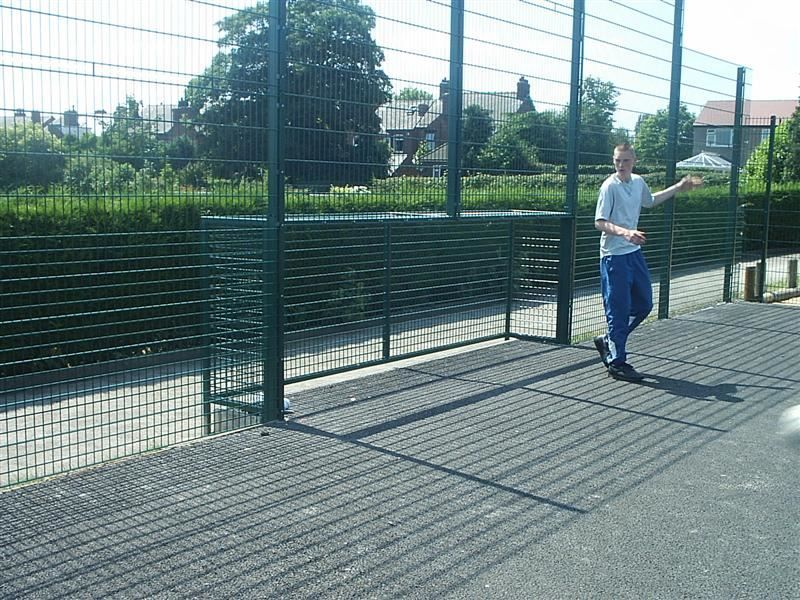 Irish Fencing & Railings Ltd. Mesh Perimeter Range B01 -656 Sports Mesh (32)