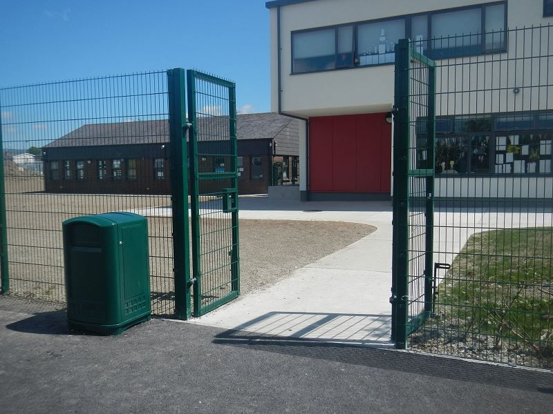 Pedestrian-Mesh-Gate-St-Johns-and-Pauls-School-Drogheda