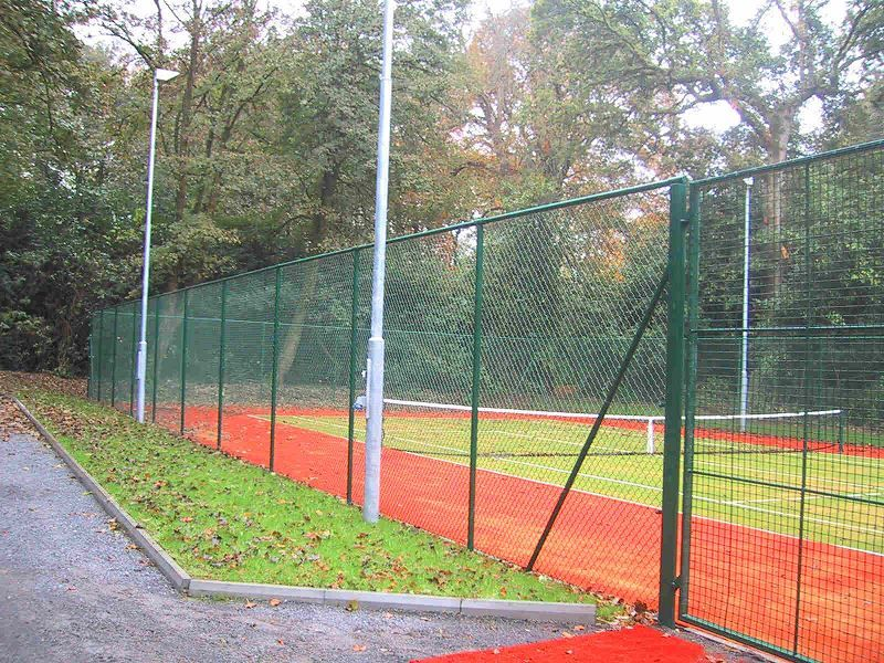 Irish Fencing Railings Ltd.Mesh Perimeter Range A06 Chainlink 33 10