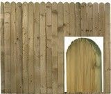 Solid 95mm Board Panel available painted or pressure treated