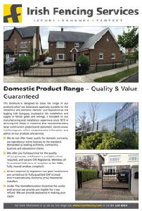 Domestic Product Range