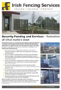 Security Fencing & Services