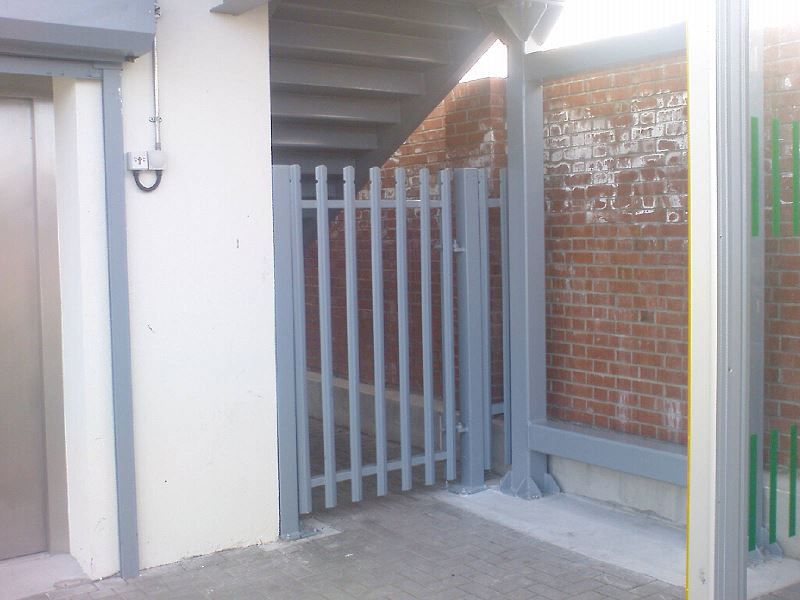 Irish Fencing & Railings Ltd-Gates Range-G01- Single Leaf- Swing (300)