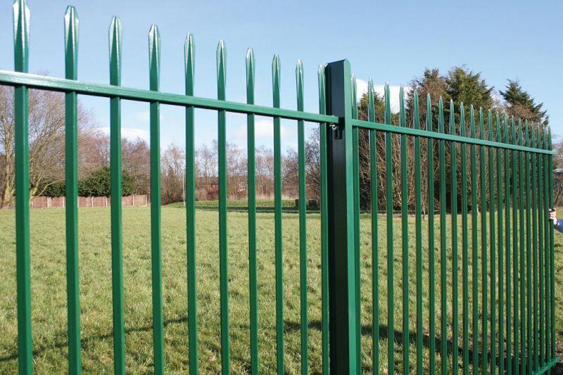 Irish Fencing & Railings Ltd. Railings Range-C12 Provinces Range Connaught 03-Solid Roundbar (3)