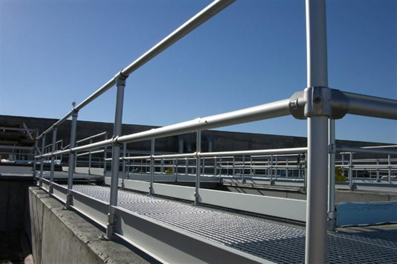 Irish Fencing & Railings Ltd Kee Safety Range  Kee Lite Aluminium Safety Barrier  (7)