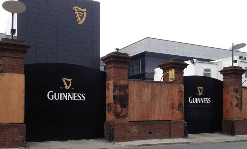 irish fencing guiness gate