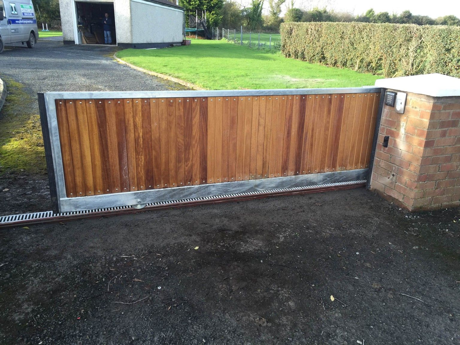 Irish Fencing Services- K02- Timber Domestic Gates 08 (15)