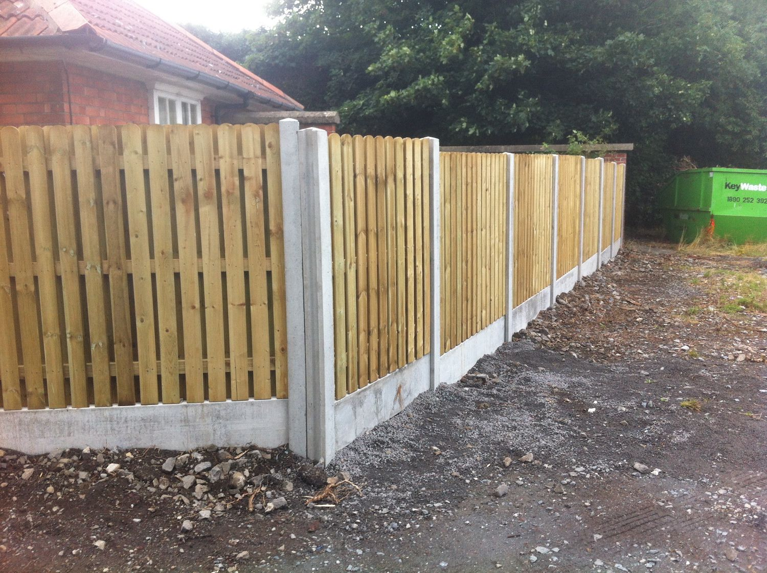 Hit and Miss Hit and Miss Panels concrete posts and base panel Irish Fencing Services in use (9)Panels concrete posts and base panelIrish Fencing Services in use (9)