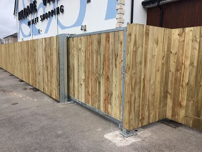Bespoke Softwood Fencing