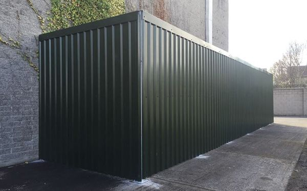 Irfen Steel Maintenance Free Privacy Fencing
