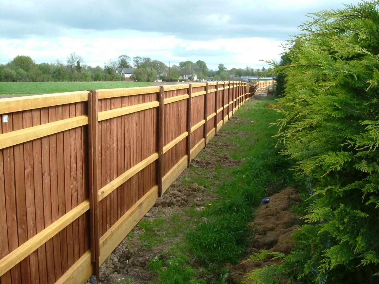 Acoustic Fencing – Noise Barrier