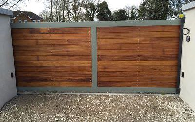 Automated Residential Sliding Gate