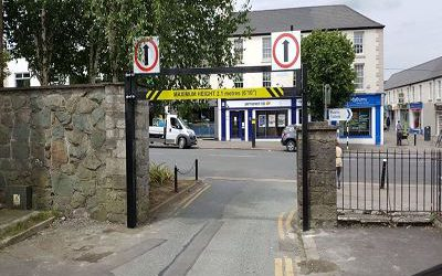 Height Restriction Barrier, Newbridge