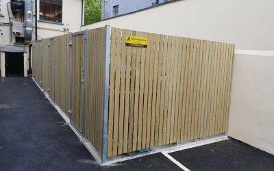 Timber Bin Storage Compound
