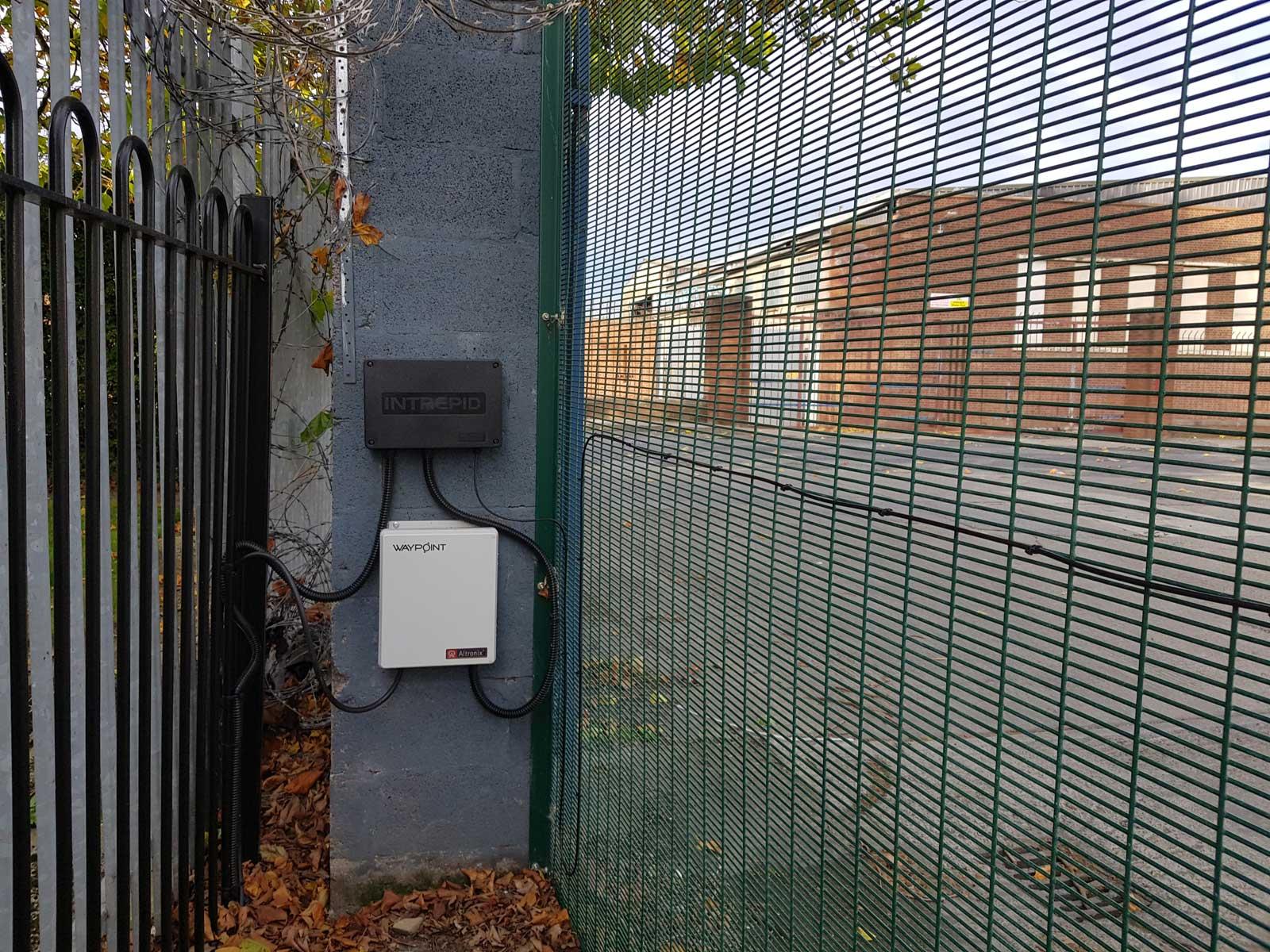 Irish Fencing Services Product Demo Area Intrepid PID On Kilmainham 358 Prison Mesh (16)