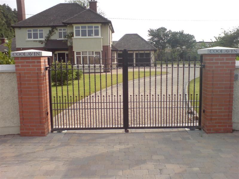 Irish Fencing & Railings Ltd. Gates Range G11 – Domestic Gates (131)
