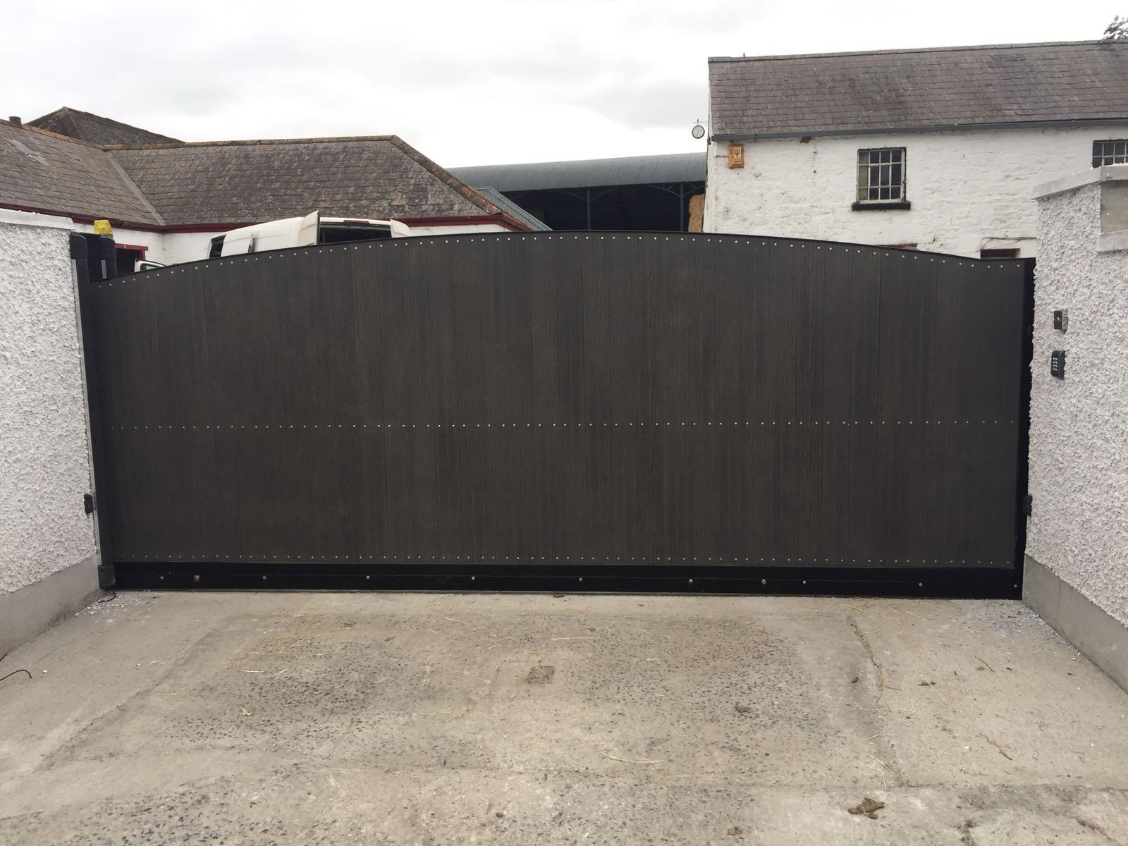 Irish Fencing Composite Fences And Gates Slider Gate 1