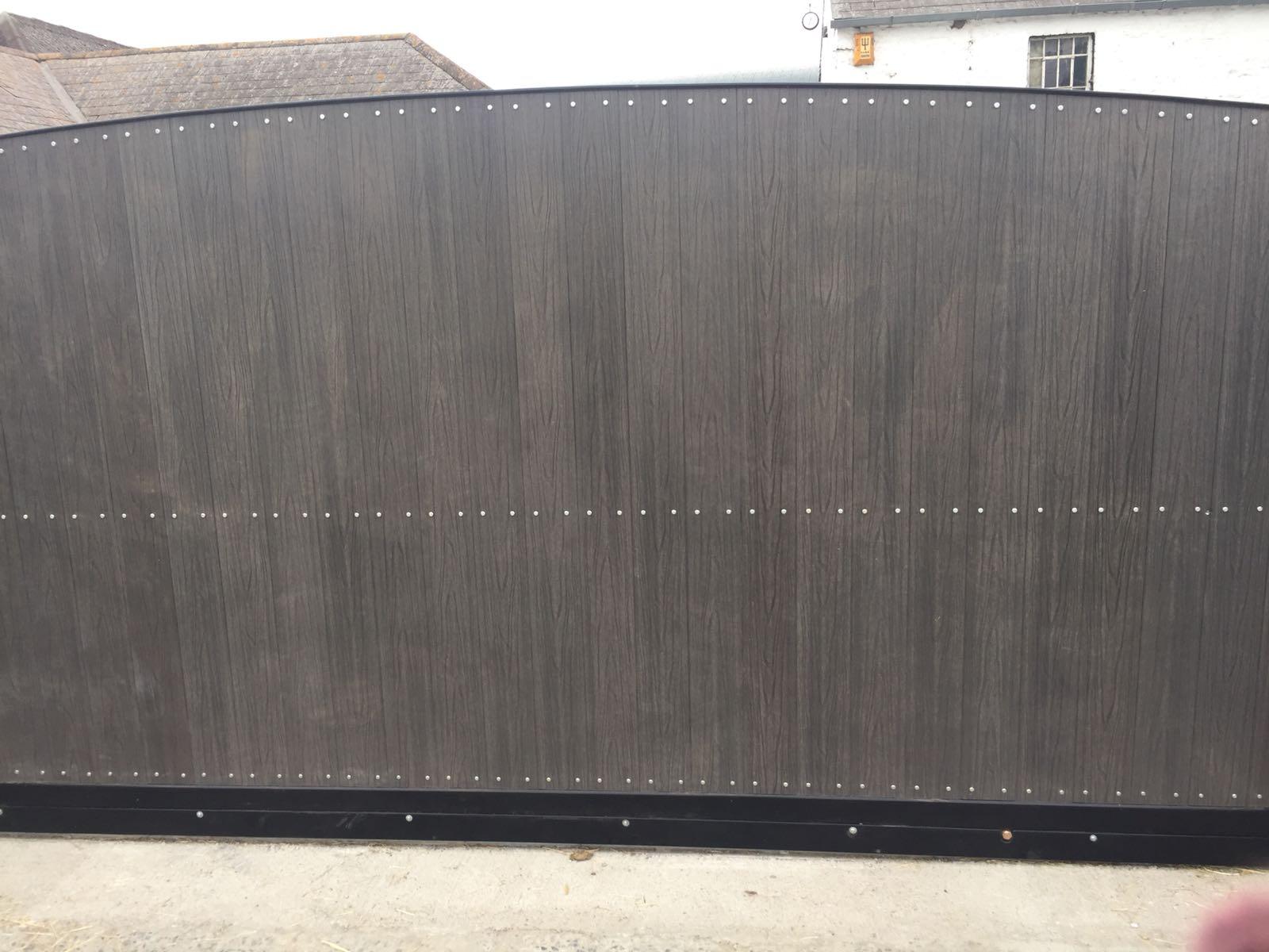 Irish Fencing Composite Fences And Gates Slider Gate 2