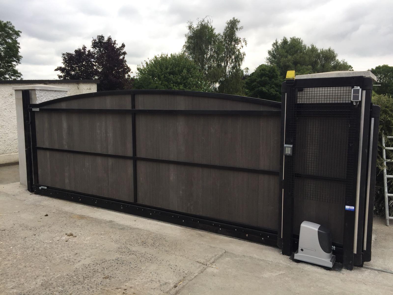 Irish Fencing Composite Fences And Gates Slider Gate