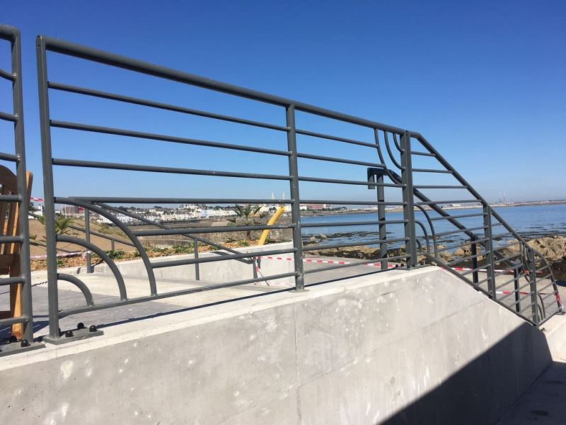 Irish Fencing Customised Handrail Dunlaoire (2)
