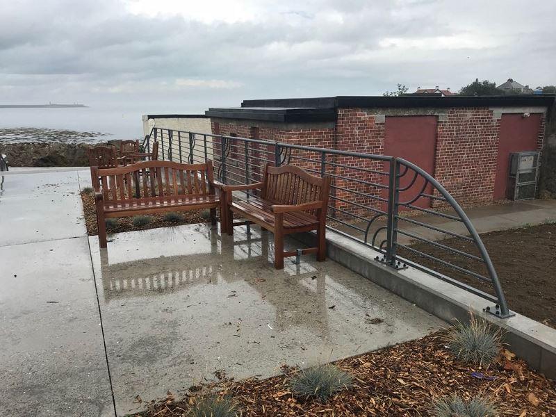 Irish Fencing Customised Handrail Dunlaoire (9)