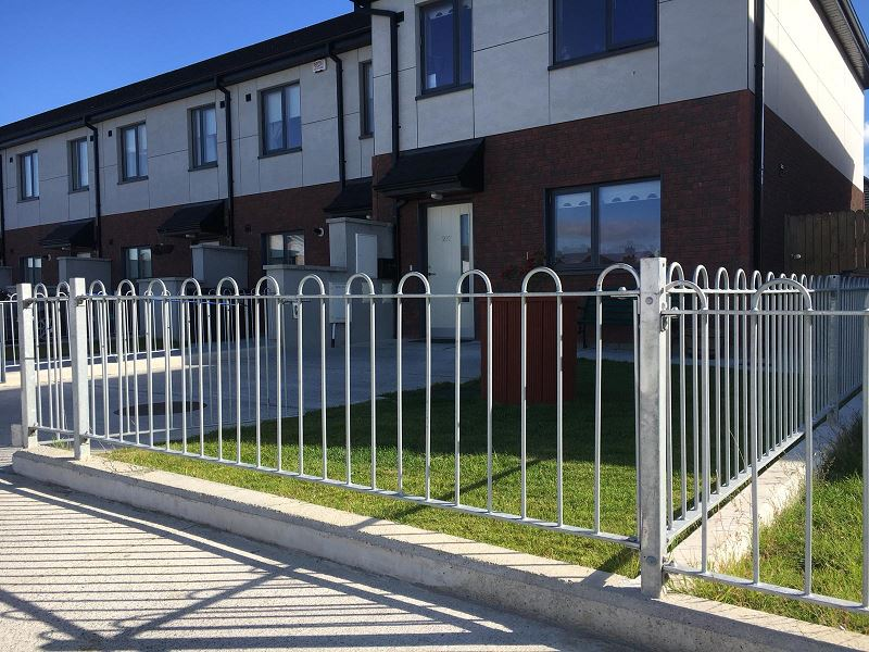 Irish Fencing Services Bowtop Railing.gates.2