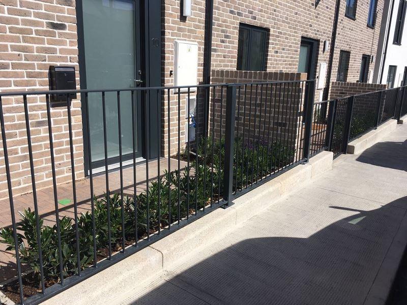 Irish Fencing Services Solid Bar Railing & Gates.3