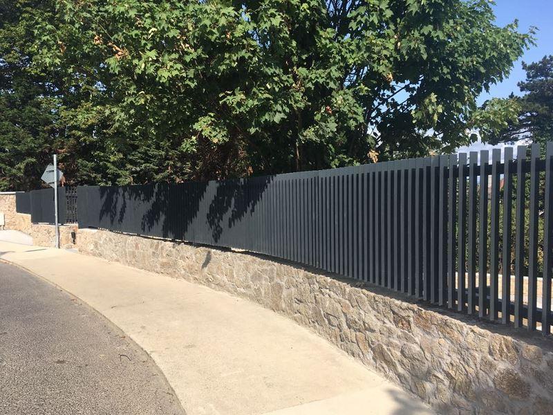 Irish Fencing Services Flat Bar Railing Gates.3