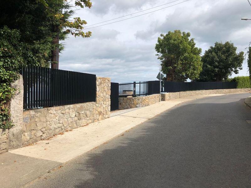 Irish Fencing Services Flat Bar Railing Gates.8