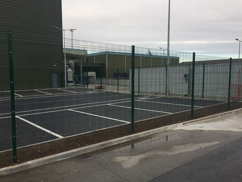 Irish Fencing Services Kilbarry Mesh Gates.1