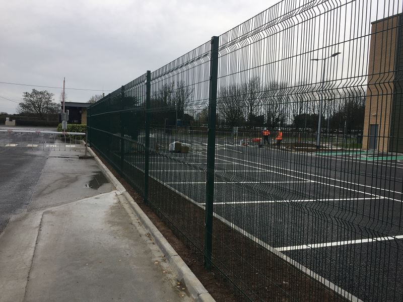 Irish Fencing Services Kilbarry Mesh Gates.5