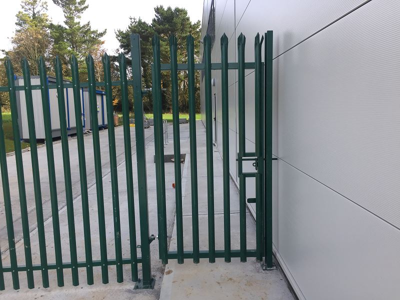 Irish Fencing Services 2400mm High Palisade Gate.