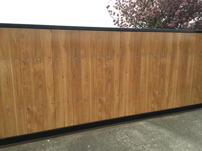 Irish Fencing Services Residential Sliding Gate.3