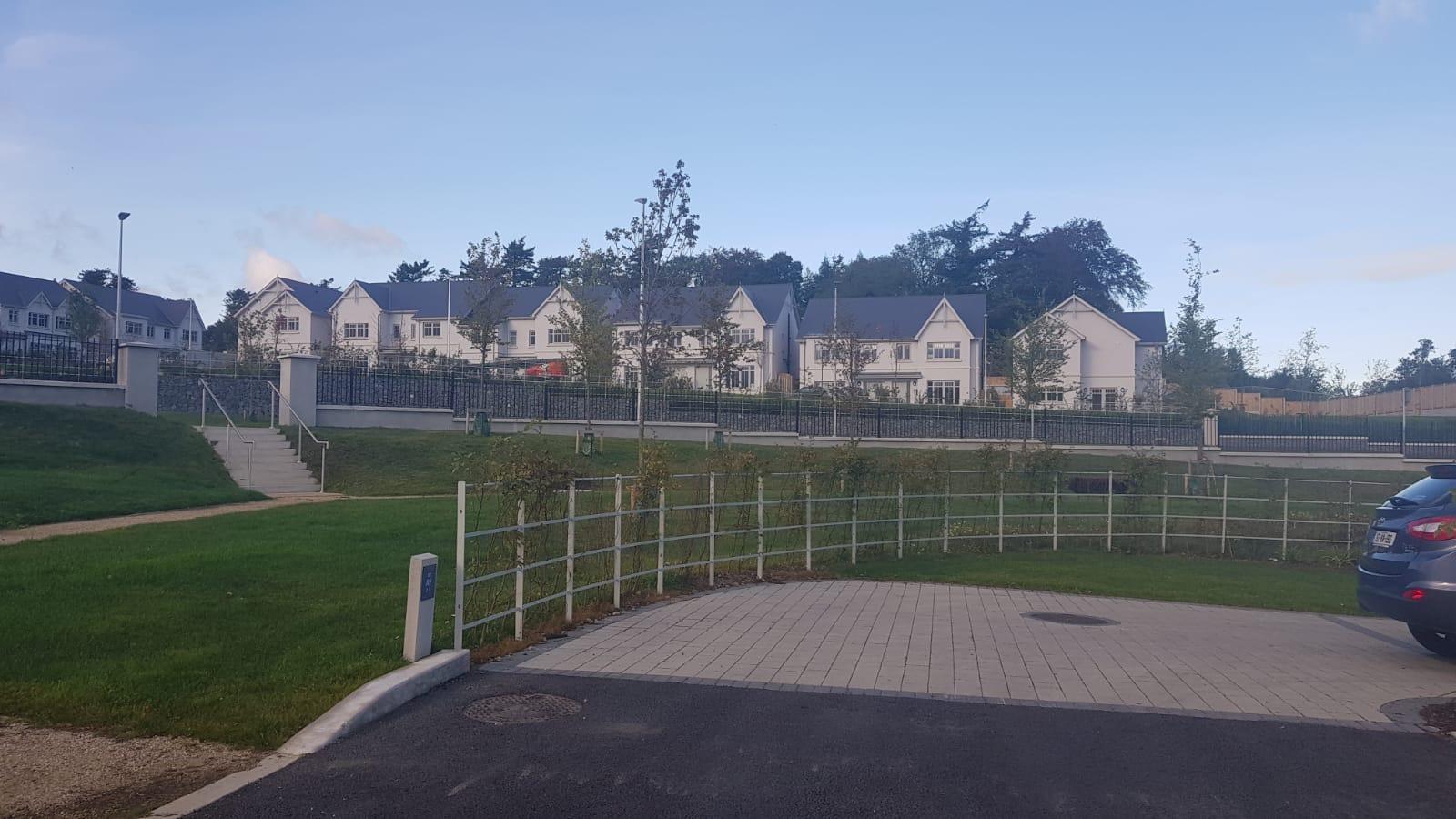 Irish Fencing Services Kanturk Estate Railin Grey.10
