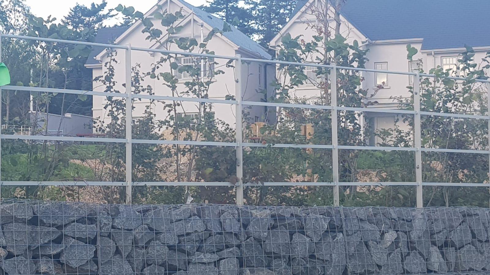 Irish Fencing Services Kanturk Estate Railin Grey.14