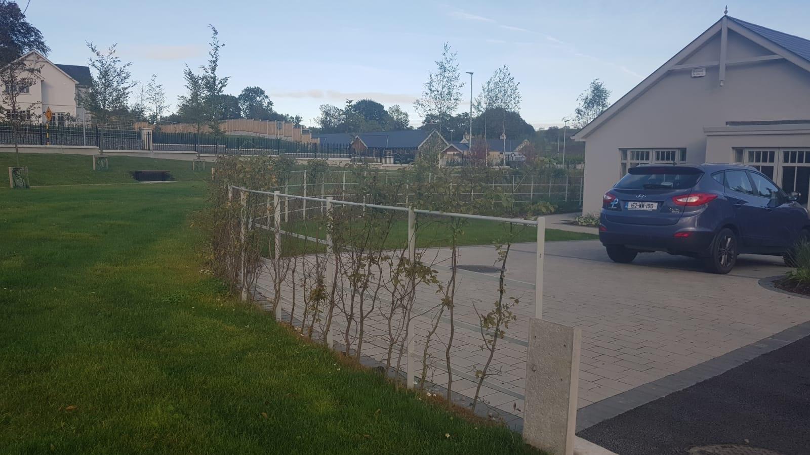 Irish Fencing Services Kanturk Estate Railin Grey.15