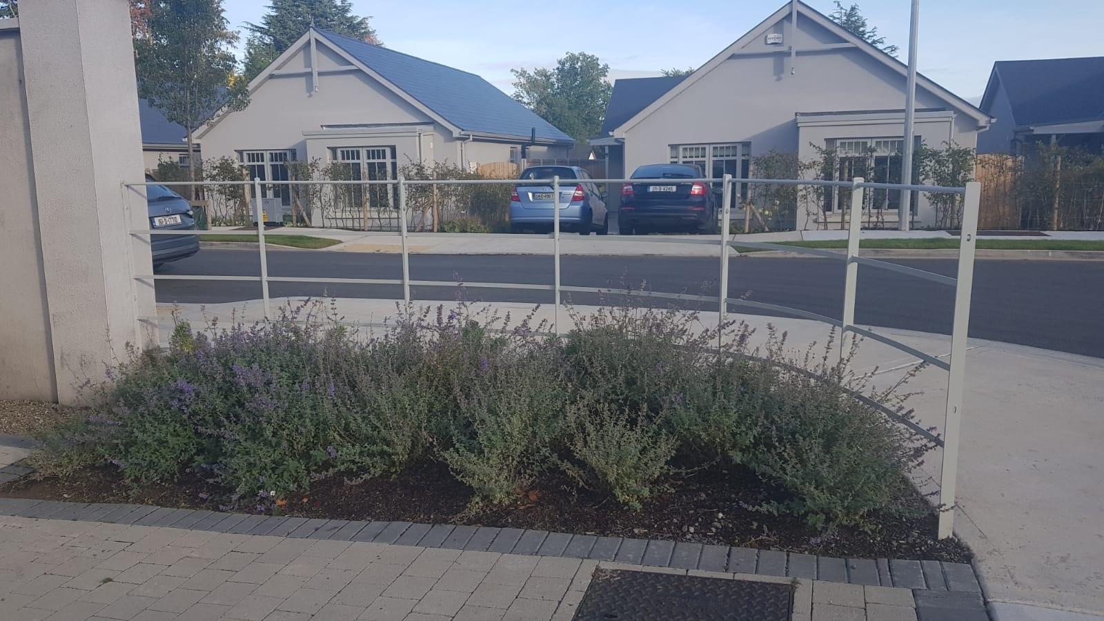 Irish Fencing Services Kanturk Estate Railin Grey.16