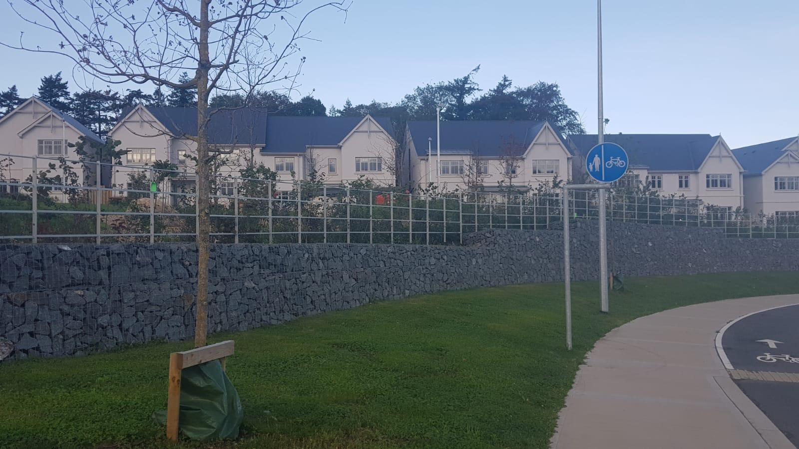 Irish Fencing Services Kanturk Estate Railin Grey.5