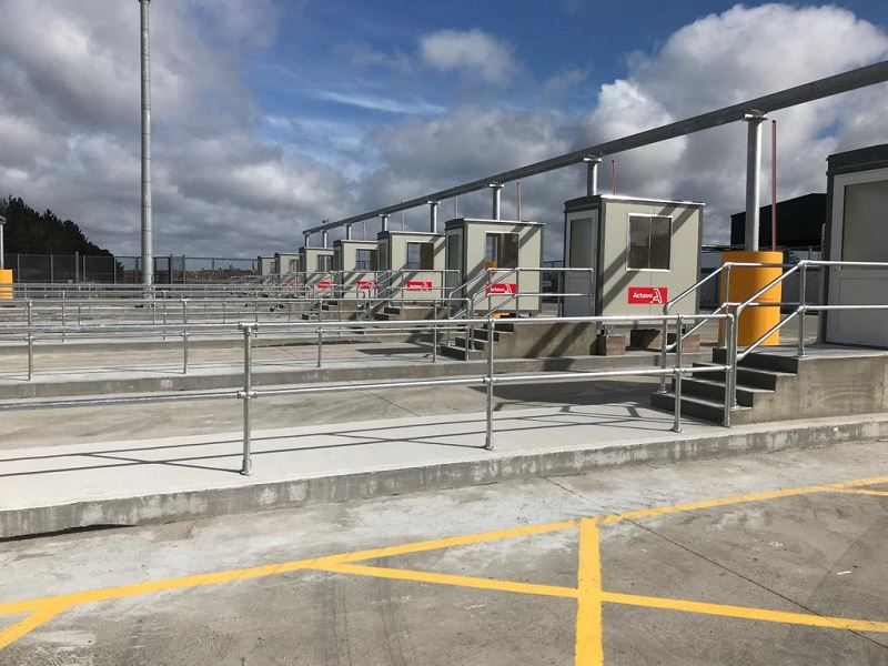 Irish Fencing Services KeeKlamp Handrail Dublin Port.3