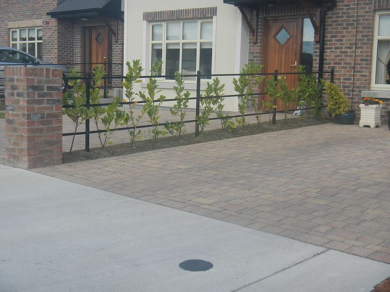 Irish Fencing Services Kenmare Estate Railing Black