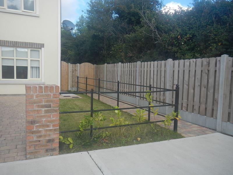 Irish Fencing Services Kenmare Estate Railing Black2