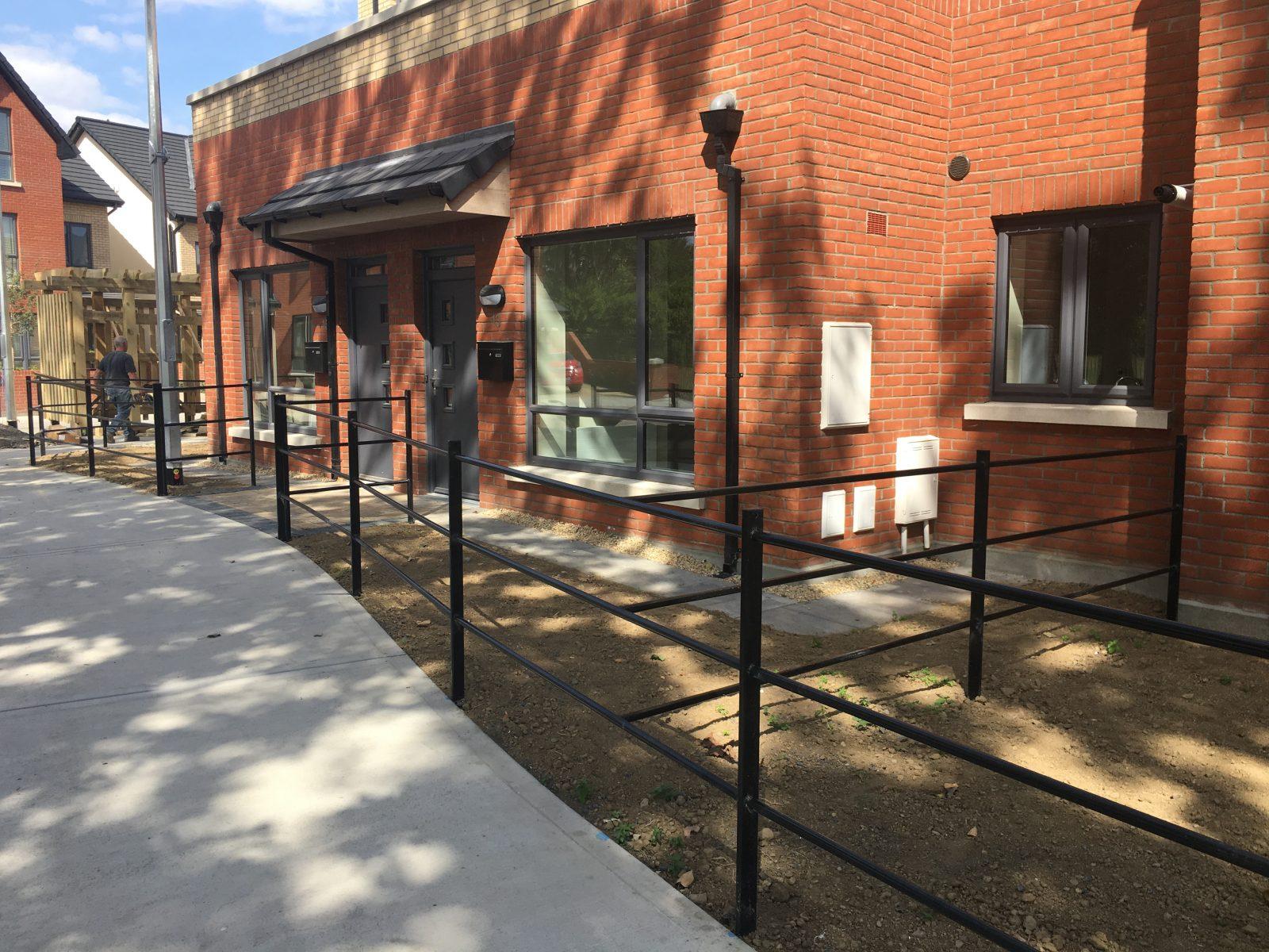 Irish Fencing Services Kenmare Residential Estate Railing Black10