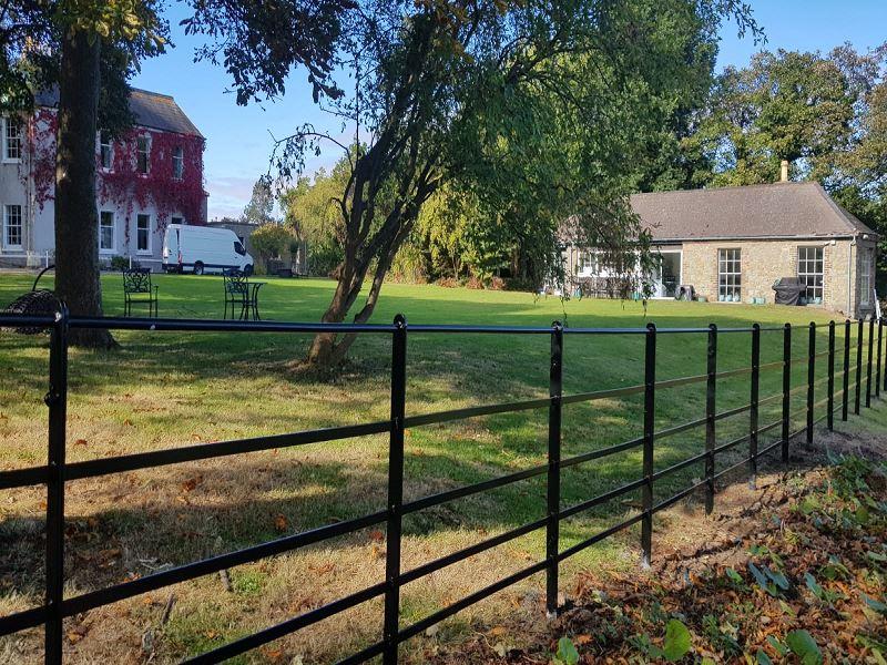 Irish Fencing Services Killarney Estate Railing1